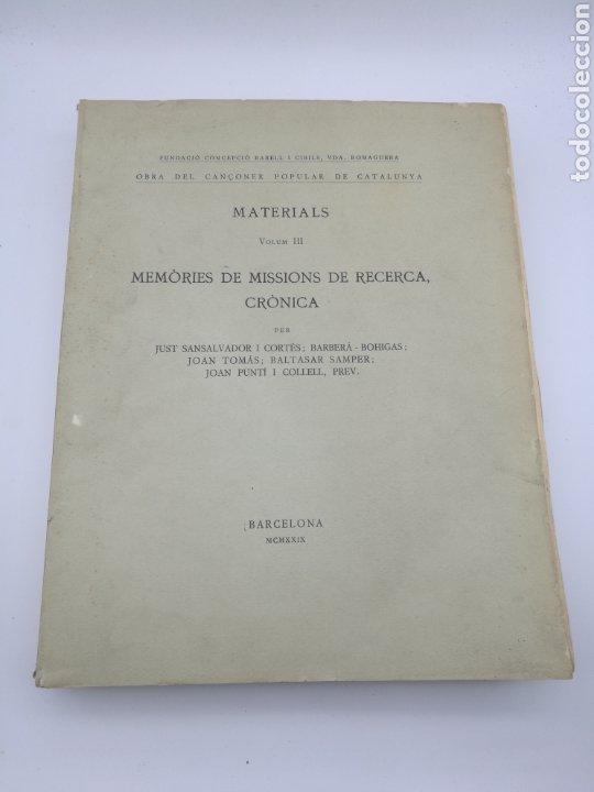 Libros antiguos: Obra del cançoner popular Catalunya 3 volums 1928 1929 - Foto 4 - 204328670