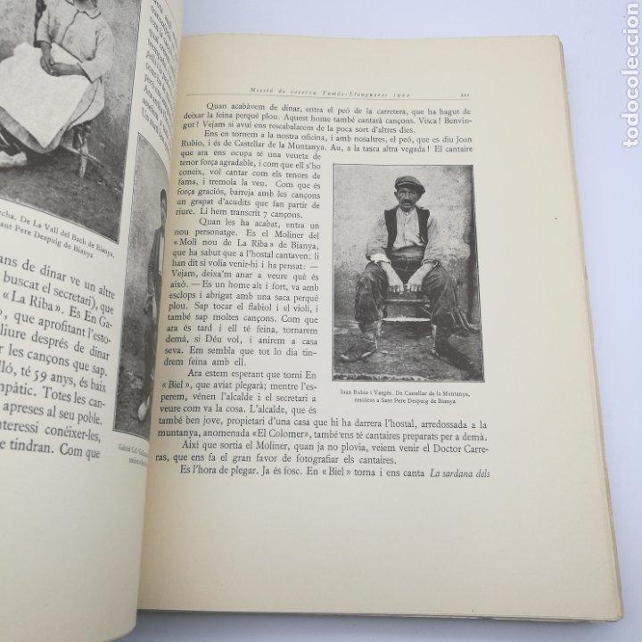 Libros antiguos: Obra del cançoner popular Catalunya 3 volums 1928 1929 - Foto 6 - 204328670