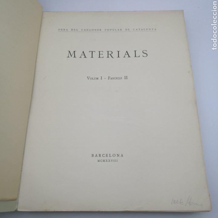 Libros antiguos: Obra del cançoner popular Catalunya 3 volums 1928 1929 - Foto 9 - 204328670