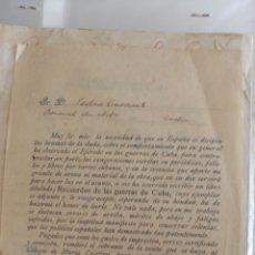 Libros antiguos: RECUERDOS DE LAS GUERRAS DE CUBA POR ANTONIO SERRA Y ORTS. Lote 204788103