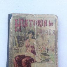 Libros antiguos: HISTORIA DE ESPAÑA - SATURNINO CALLEJA - 1900 - 178 PAGINAS - DEPEGADO DEL LOMO Y DOS ULTIMAS PAGINA. Lote 205036615