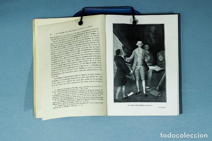 Libros antiguos: EL CONDE DE FLORIDABLANCA. SU VIDA Y SU OBRA. CAYETANO ALCAZAR MOLINA. 1934. UNIVERSIDAD DE MURCIA. - Foto 4 - 205964853