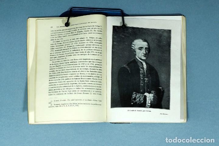 Libros antiguos: EL CONDE DE FLORIDABLANCA. SU VIDA Y SU OBRA. CAYETANO ALCAZAR MOLINA. 1934. UNIVERSIDAD DE MURCIA. - Foto 6 - 205964853
