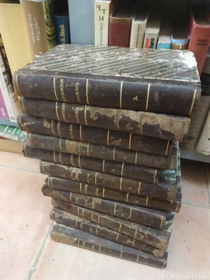 HISTORIA DE LA REVOLUCIÓN FRANCESA. THIERS, M. A. IGNACIO RAMÓN BAROJA. 11 VOL. SAN SEBASTIÁN, 1840 (Libros antiguos (hasta 1936), raros y curiosos - Historia Moderna)