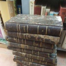 Libros antiguos: HISTORIA DE LA REVOLUCIÓN FRANCESA. THIERS, M. A. IGNACIO RAMÓN BAROJA. 11 VOL. SAN SEBASTIÁN, 1840. Lote 206035238