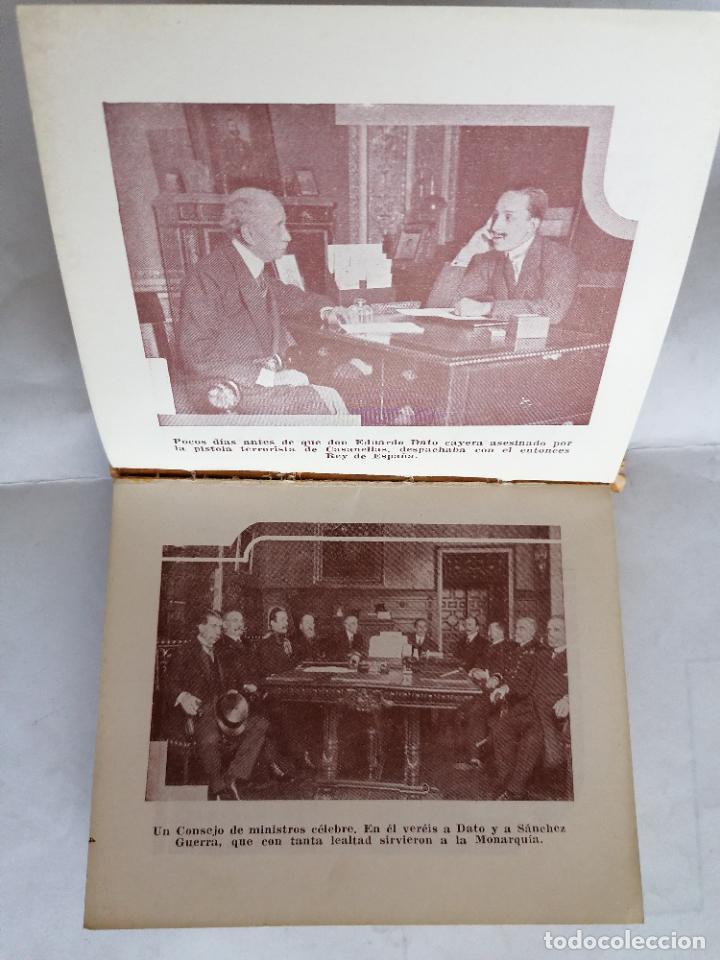 Libros antiguos: ALMANAQUE MONARQUICO DE BOLSILLO 1936, COLECCION AL SERVICIO DEL PUEBLO, 2ª EDICION - Foto 5 - 206160912