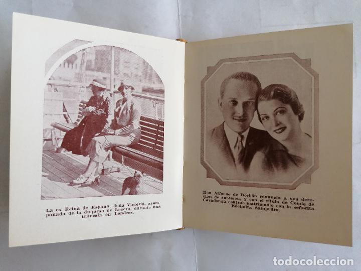 Libros antiguos: ALMANAQUE MONARQUICO DE BOLSILLO 1936, COLECCION AL SERVICIO DEL PUEBLO, 2ª EDICION - Foto 7 - 206160912