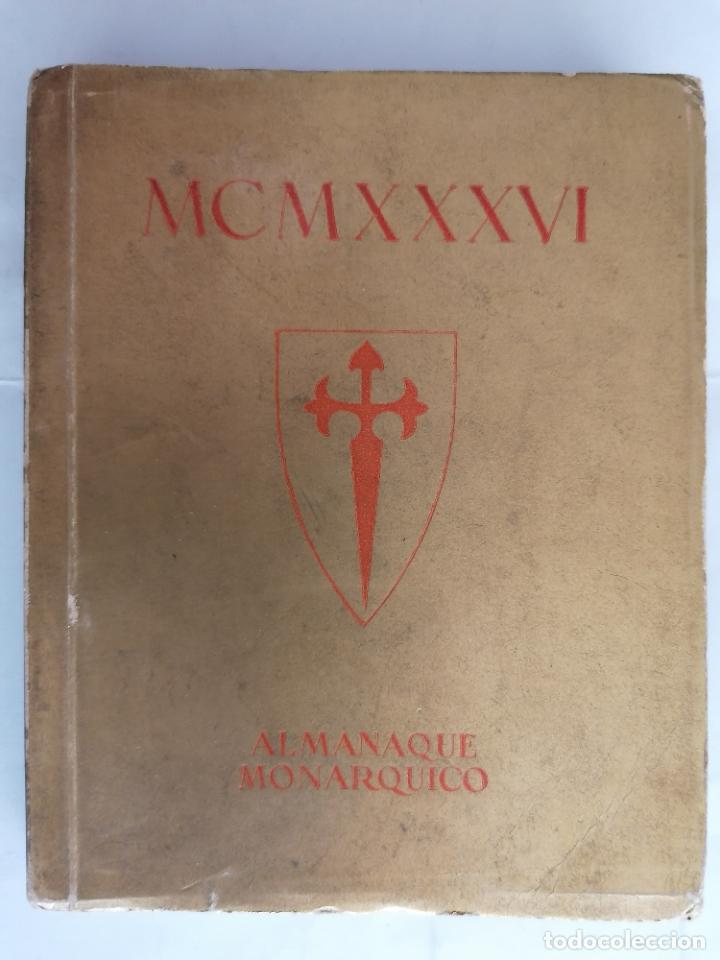 ALMANAQUE MONARQUICO DE BOLSILLO 1936, COLECCION AL SERVICIO DEL PUEBLO, 2ª EDICION (Libros antiguos (hasta 1936), raros y curiosos - Historia Moderna)