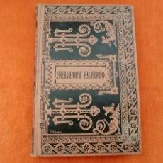 Libros antiguos: CORONA GOTICA. SAAVEDRA FAJARDO. 1887. Lote 206353311