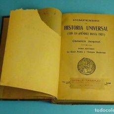 Libros antiguos: COMPENDIO DE HISTORIA UNIVERSAL TOMO 2º LA EDAD MEDIA Y TIEMPOS MODERNOS. CLEMENCIA JACQUINET. Lote 207857485