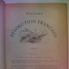 Libros antiguos: LA REVOLUCIÓN FRANCESA GRABADOS 1850 FENOMENAL LIBRO. Lote 207970511