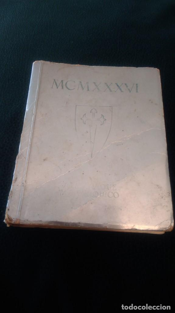 LIBRITO ´MCMXXXVI´ ALMANAQUE MONÁRQUICO 1936 (Libros antiguos (hasta 1936), raros y curiosos - Historia Moderna)