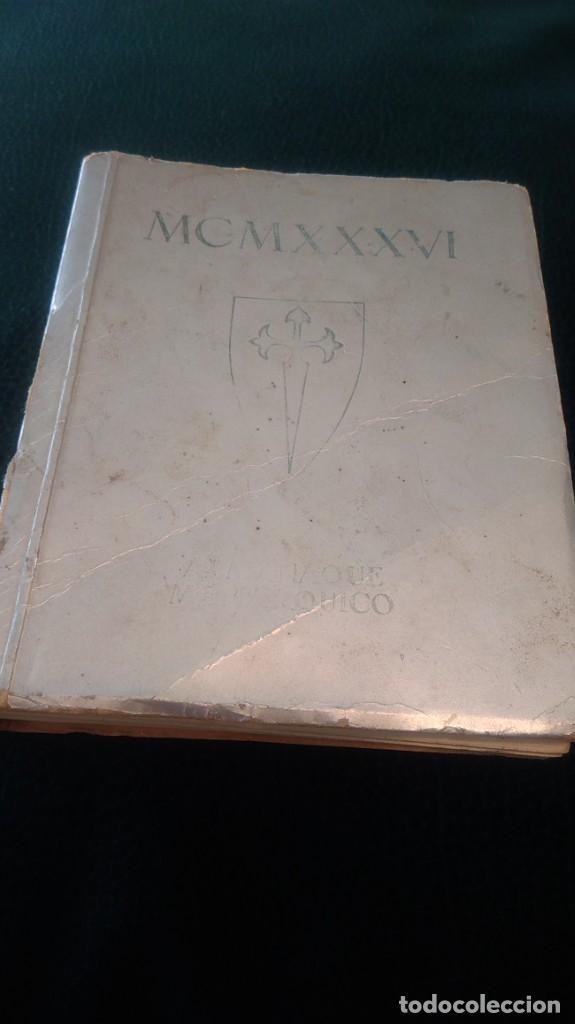 Libros antiguos: LIBRITO ´MCMXXXVI´ ALMANAQUE MONÁRQUICO 1936 - Foto 2 - 208835035