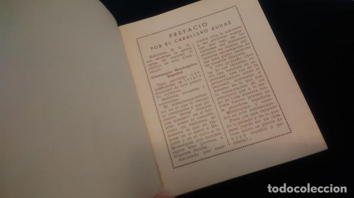 Libros antiguos: LIBRITO ´MCMXXXVI´ ALMANAQUE MONÁRQUICO 1936 - Foto 7 - 208835035