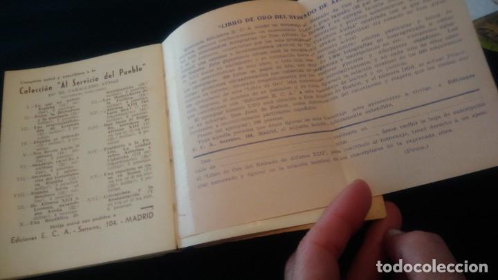 Libros antiguos: LIBRITO ´MCMXXXVI´ ALMANAQUE MONÁRQUICO 1936 - Foto 22 - 208835035