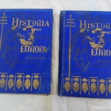 Libros antiguos: HISTORIA DE LA EUROPA MODERNA ALFREDO OPISSO 2 TOMOS, RAMON MOLINAS,BARCELONA 1890. Lote 208891231