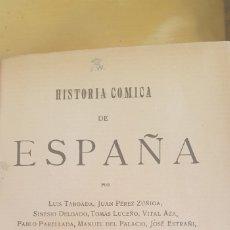 Libros antiguos: HISTORIA CÓMICA DE ESPAÑA (1911) 2 VOLÚMENES. Lote 208977135