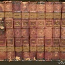 Libros antiguos: HISTORIA GENERAL DE ESPAÑA (1887-1890) - DON MODESTO LAFUENTE MONTANER Y SIMON EDITORES. ED. COMPLET. Lote 209215995