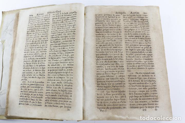 Libros antiguos: Historia civil de España, 1740, Frai Nicolás de Jesús Belando, Imprenta Manuel Fernán, Madrid. - Foto 3 - 209998916