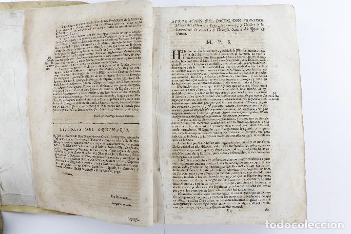 Libros antiguos: Historia civil de España, 1740, Frai Nicolás de Jesús Belando, Imprenta Manuel Fernán, Madrid. - Foto 4 - 209998916