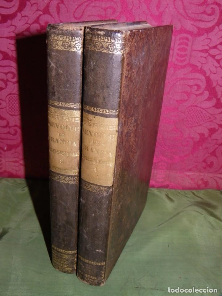 HISTORIA DE LA REVOLUCIÓN DE FRANCIA. MIGNET,1838 (Libros antiguos (hasta 1936), raros y curiosos - Historia Moderna)