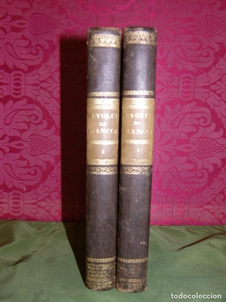 Libros antiguos: Historia de la Revolución de Francia. Mignet,1838 - Foto 2 - 210104505