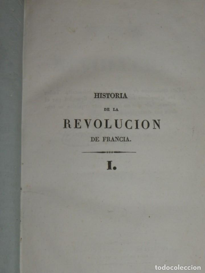 Libros antiguos: Historia de la Revolución de Francia. Mignet,1838 - Foto 7 - 210104505