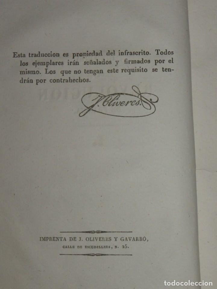 Libros antiguos: Historia de la Revolución de Francia. Mignet,1838 - Foto 8 - 210104505