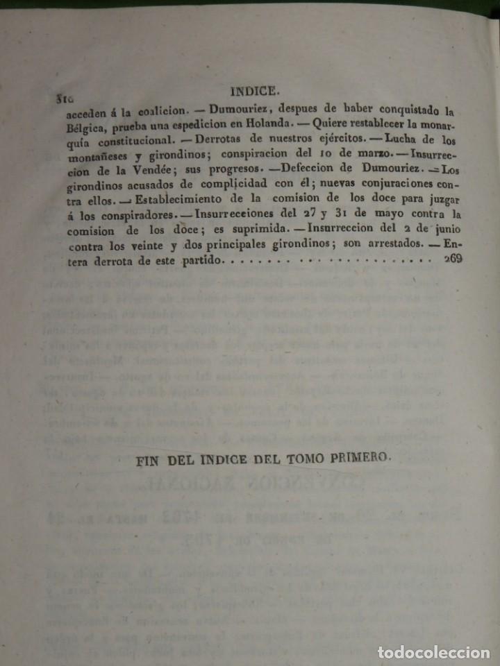 Libros antiguos: Historia de la Revolución de Francia. Mignet,1838 - Foto 21 - 210104505