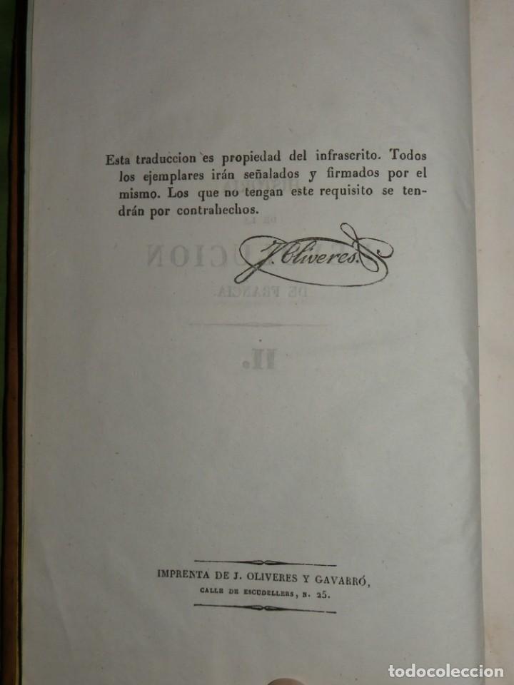 Libros antiguos: Historia de la Revolución de Francia. Mignet,1838 - Foto 25 - 210104505