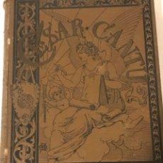 Libros antiguos: HISTORIA UNIVERSAL POR CÉSAR CANTÚ TOMO UNO 1800. Lote 210323315