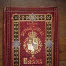 Libros antiguos: HISTORIA ESPAÑA GUERRA INDEPENDENCIA, (1808-1833) LAFUENTE, ORIGINAL, BARCELONA, 1880, GRAN TAMAÑO. Lote 210361172