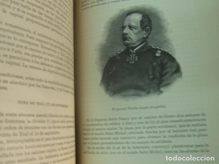 Libros antiguos: HISTORIA DE LA GUERRA FRANCO-ALEMANA DE 1870-71 MOLKE EDIT MONANER Y SIMON AÑO 1891 SIGLO XIX - Foto 5 - 211682109