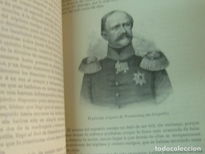 Libros antiguos: HISTORIA DE LA GUERRA FRANCO-ALEMANA DE 1870-71 MOLKE EDIT MONANER Y SIMON AÑO 1891 SIGLO XIX - Foto 6 - 211682109