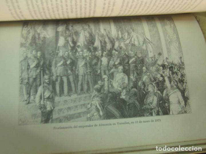 Libros antiguos: HISTORIA DE LA GUERRA FRANCO-ALEMANA DE 1870-71 MOLKE EDIT MONANER Y SIMON AÑO 1891 SIGLO XIX - Foto 8 - 211682109
