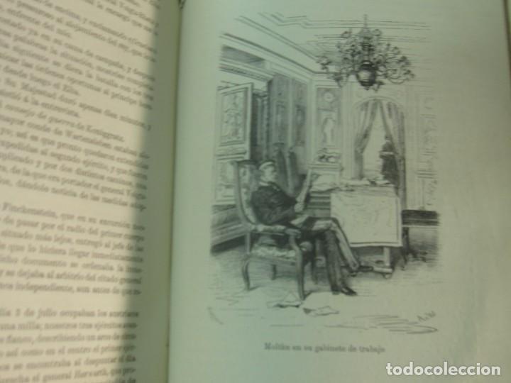 Libros antiguos: HISTORIA DE LA GUERRA FRANCO-ALEMANA DE 1870-71 MOLKE EDIT MONANER Y SIMON AÑO 1891 SIGLO XIX - Foto 9 - 211682109