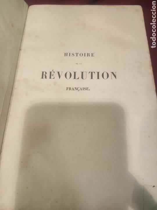 Libros antiguos: La Révolution Française Autor: M.A. Thiers(1844) - Foto 4 - 211729808