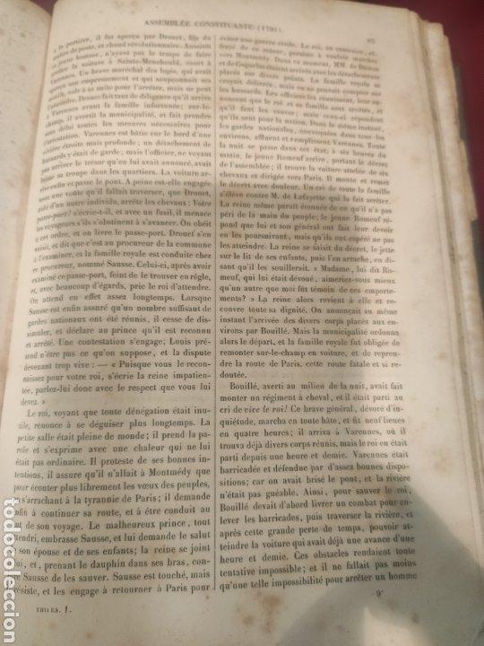Libros antiguos: La Révolution Française Autor: M.A. Thiers(1844) - Foto 10 - 211729808