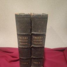 Libros antiguos: LA RÉVOLUTION FRANÇAISE THIERS. Lote 211729808
