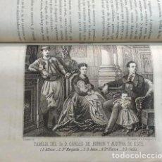 Livros antigos: II GUERRA CARLISTA - JULIO NOMBELA - DETRÁS DE LAS TRINCHERAS (1868 - 1876) - LITOGRAFÍAS. Lote 211870516