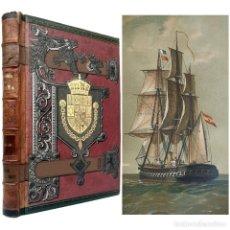 Livros antigos: 1890 - HISTORIA DE ESPAÑA (1848 -1869). INSURRECCIONES, CUBA, FILIPINAS, GUERRA DE AFRICA, ODONNELL. Lote 211990518