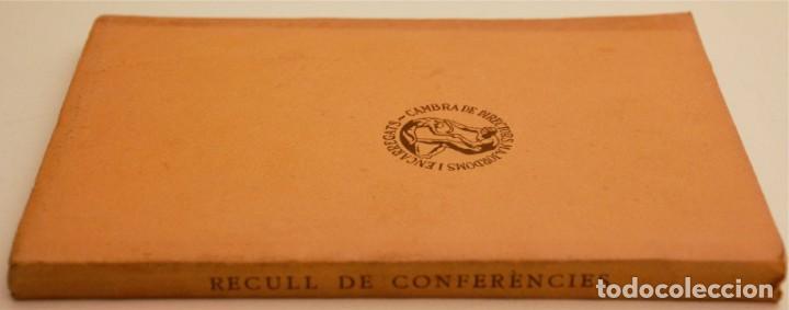 Libros antiguos: RECULL DE CONFERÈNCIES CAMBRA DE DIRECTORS, MAJORDOMS I ENCARREGATS DE L'ART TÈXTIL - Foto 5 - 212590898