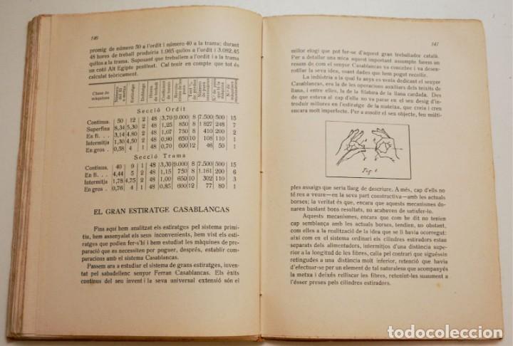 Libros antiguos: RECULL DE CONFERÈNCIES CAMBRA DE DIRECTORS, MAJORDOMS I ENCARREGATS DE L'ART TÈXTIL - Foto 8 - 212590898