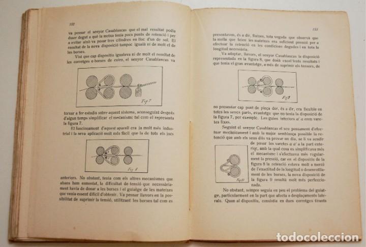 Libros antiguos: RECULL DE CONFERÈNCIES CAMBRA DE DIRECTORS, MAJORDOMS I ENCARREGATS DE L'ART TÈXTIL - Foto 9 - 212590898