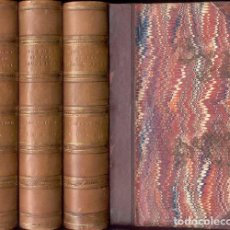 Libros antiguos: LAMARTINE - HISTORY OF THE GIRONDISTS – 3 VOL- AÑO 1848. Lote 212964146