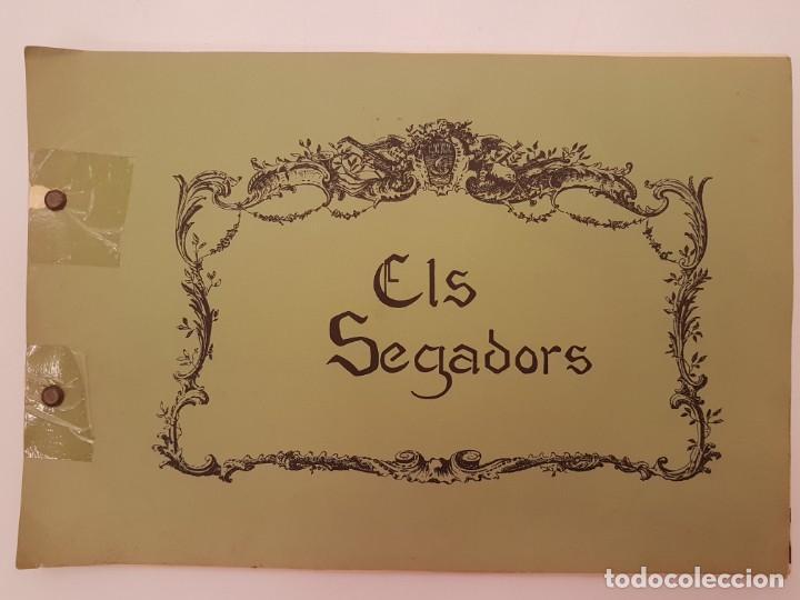 CURIOS ELS SEGADORS, (IMP. PERPINYA), DIBUIX GIPSY, ED, COLECTIU D´EXPRESIO 77 (Libros antiguos (hasta 1936), raros y curiosos - Historia Moderna)
