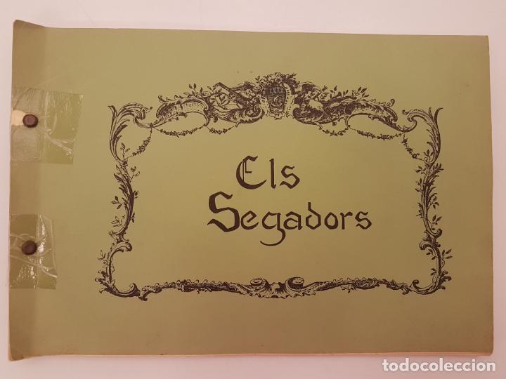 Libros antiguos: CURIOS ELS SEGADORS, (IMP. PERPINYA), DIBUIX GIPSY, ED, COLECTIU D´EXPRESIO 77 - Foto 17 - 212995160