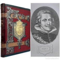 Livros antigos: 1888 - HISTORIA DE ESPAÑA. FELIPE III, FELIPE IV, CONDE-DUQUE DE OLIVARES, EXPULSIÓN DE LOS MORISCOS. Lote 213229141