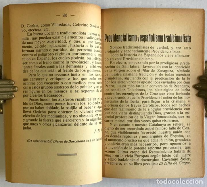 Libros antiguos: ESCUELA NEO-TRADICIONALISTA. IDEARIO NEO-TRADICIONALISTA. - Foto 3 - 123138336