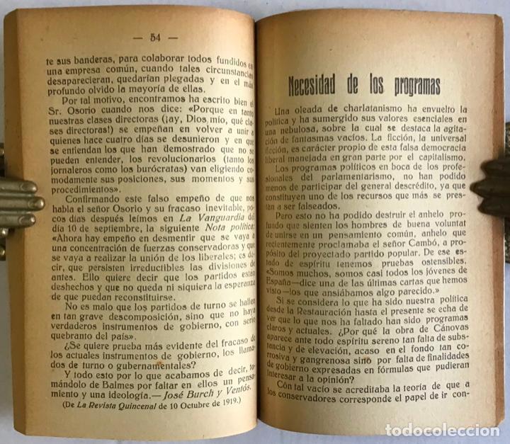 Libros antiguos: ESCUELA NEO-TRADICIONALISTA. IDEARIO NEO-TRADICIONALISTA. - Foto 4 - 123138336